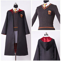 Adult Girl Version Hermione Granger Cosplay Costume Gryffindor Kid size In Stock