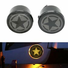 Five Star LED Smoke Turn Signal Lights for Jeep Wrangler JK & Wrangler Unlimited