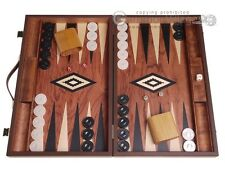 Rosewood Wood Backgammon Set - Rosewood Field - Large Wooden Board
