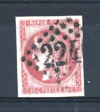 "FRANCE STAMP TIMBRE YVERT 49 "" CERES BORDEAUX 80c ROSE 1870 "" OBLITERE TB T207"