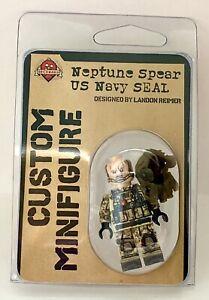 Brickmania Neptune Spear US Navy Seal Custom Minifigure BMF500