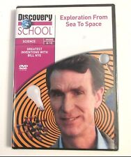 Bill Nye EXPLORATION FROM SEA TO SPACE DVD Discovery School Science Grades 6-12