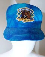Joe Camel Vintage Smooth Character Blue Nylon Tie-Die Smokers Snap Back Hat Cap