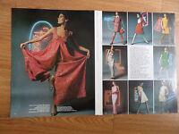 1967 Article Fashion Ad Pucci Dior Ricci Patou Fabiani Lanvin Cardin Molyneaux