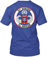82nd Airborne Master - Aa 82 Nd All American Hanes Tagless Tee T-Shirt