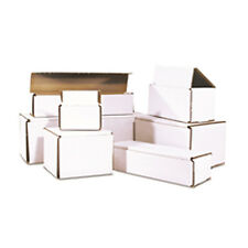 500 -  5x4x2 White Corrugated Shipping Mailer Packing Box Boxes