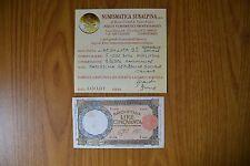 BANCONOTA LIRE 50 LUPA BI 1 2 1944 REPUBBLICA SOCIALE ITALIANA RARISSIMA BB/SPL