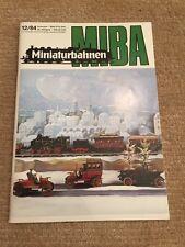 Miba Miniaturbahnen 12/84 Trix-Ellok 175 Brekina Köf II Kibri Fleischmann 65 018