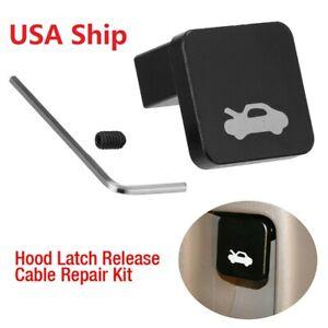 Hood Release Latch Handle Repair Kit Fit For Honda Civic CRV Element Ridgeline