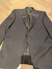Gieves & Hawkes. Black Tie 2 Piece Suit. Tuxedo. 100% Merino Wool. EU 48 / UK 38