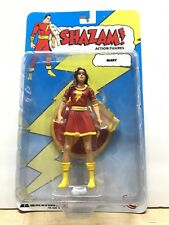 DC Direct Shazam Action Figures: Mary (Red Suit) with Stand (2007) K1