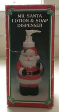 VINTAGE Christmas Soap Dispenser, UNUSED