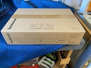 SpeakerCraft SC2-50 2 Channel Amplifier100 watts per channel Bridgeable 225 Mono