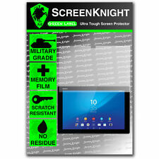ScreenKnight Sony Xperia Z4 Tablet SCREEN PROTECTOR invisible Military Grade