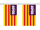 Balearic Islands Bunting 20 Flags 6 Metres Spain Spanish Banner Decoration