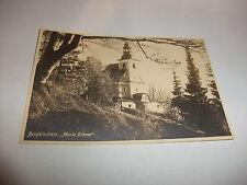 alte Postkarte Ansichtskarte AK PK Glatzer Bergland Maria Schnee Schlesien v1945