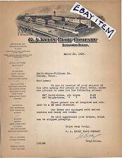 1929 G A Kelly Plow Company LONGVIEW TEXAS farm machinery LETTERHEAD Hargreaves