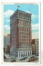 Farmers Bank Building - Pittsburgh Art Postcard c1930s