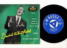 """DAVID WHITFIELD.NUMBER 3.UK ORIG 7"""" (TRI) EP.VG+/VG+"""