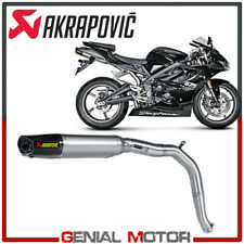 Exhaust Titanium Approved Muffler Akrapovic for Triumph DAYTONA 675 2006 > 2012