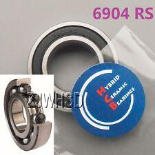 6904 2RS Si3N4 Ceramic Ball Bearing Rubber Sealed 61904 wheels 20 x 37 x 9 mm