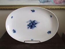 Rosenthal Germany Rhapsody Romance Serving Platter Blue And White Flowers