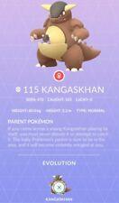 Kangaskhan Pokemon Go ✔ Regional Australia ✔ Shiny Chance ✔ 100% Quick & Safe