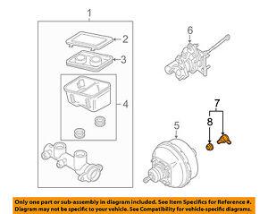 GM OEM-Power Brake Booster Check Valve 18022219