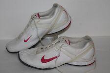 Nike Air Cardio III Trainers, #408069-102, Wht/Pink/Grey, Womens US Size 8