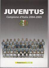 folder postali juventus campione d'italia 2004-2005