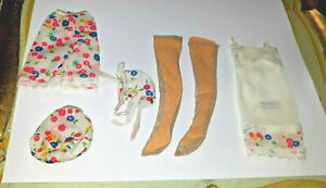Vintage Barbie Doll 1966 Francie First Things First #1252 Complete w nylons lot