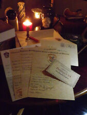 Hogwarts Years 2-7 Notification Letters with Bonus Hogwarts Pendant!