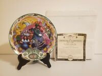 Knowles Wizard of Oz The Merry Old Land of Oz Collector Plate W Certificate