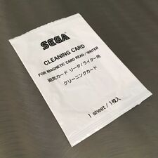 SEGA Cleaning Card for Magnetic Card Reader/Writer (1 Sheet) Derby Owners Club