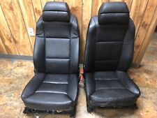 BMW E60 550i 535i FRONT SPORT COMFORT HEATED SEAT SEATS LEATHER BLACK OEM ✅