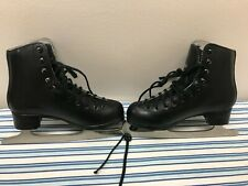 Glacier 222 By Jackson Figure Ice Skates Black Youth Size 3