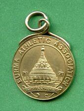BURMA  1907   ATHLETIC ASSOCIATION GOLD PRIZE MEDAL  9.3 GRAM