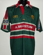 Leicester Tigers Rod KAFER australie rugby match worn jersey shirt squad signé