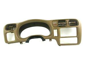 98-04 S10 Sonoma Blazer Bravada 4 INCH RADIO Dash Speedometer Bezel Trim Cover