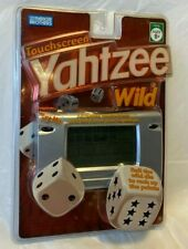 Yahtzee Wild Touchscreen Handheld Electronic Game Parker Brothers 44251 NEW Seal