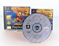 PS1 Moorhuhn 3 - Es gibt Huhn (Sony PlayStation 1, 2002) Anleitung & OVP