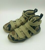 Nike Lebron Soldier XI Camo Little Kids 918368-200 Olive Shoes Size 13c