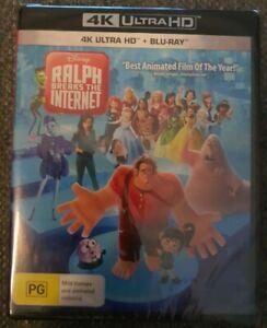 Ralph Breaks the Internet 4K + Blu-ray (2 Disc Set) Brand New Sealed