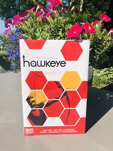hawkeye vol. 2 Hardcover New Marvel Now Graphic Novel Comic Book