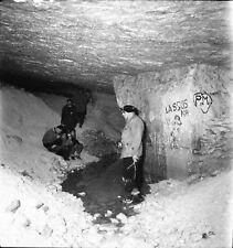 ST MARTIN LE NOEUD c. 1949 - Spéléologues Caverne Oise- 9 Négatifs 6 x 6 - ND 61