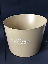 Moët Chandon Imperial Gold Champagner Metall Kühler Ice Bucket Deko NEU OVP