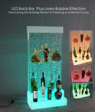 Designer LED Bar Ablagen Wasser Wand Bar Theke Regal Möbel Wasserwände Regal neu