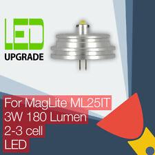 MagLite ML25IT LED Conversion/upgrade bulb Torch/flashlight 2C/3C Cell