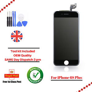 For Apple iPhone 6S Plus Black LCD Screen And Digitizer Assembly Replacement