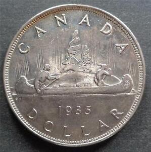Canada - George V, Silver 1 Dollar, 1935, lustrous